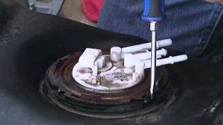 Removing An Old Fuel Pump