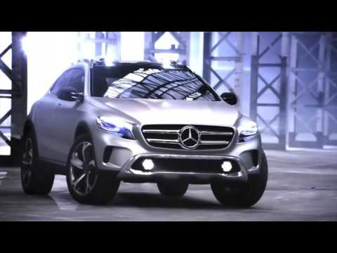Concept GLA    Mercedes Benz Sport Utility Vehicle