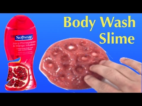 how to make slime with toothpaste and body wash