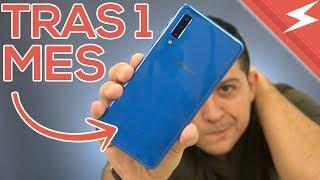 Samsung Galaxy A7 | TRAS 1 MES DE USO