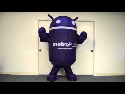 MetroPCS Android Inflatable Wearable Advertising Costume by LookOurWay