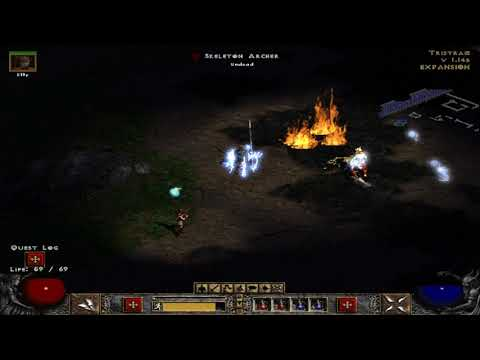 Diablo II  Lord of Destruction the search for cain
