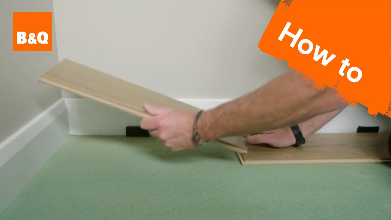 How to lay laminate flooring  YouTube