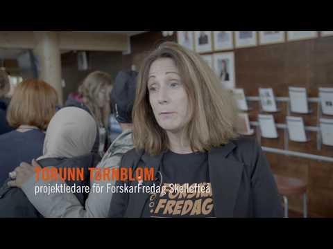 ForskarFredag Skellefteå 2017 – European Researchers´ Night in Sweden (FF16_17)