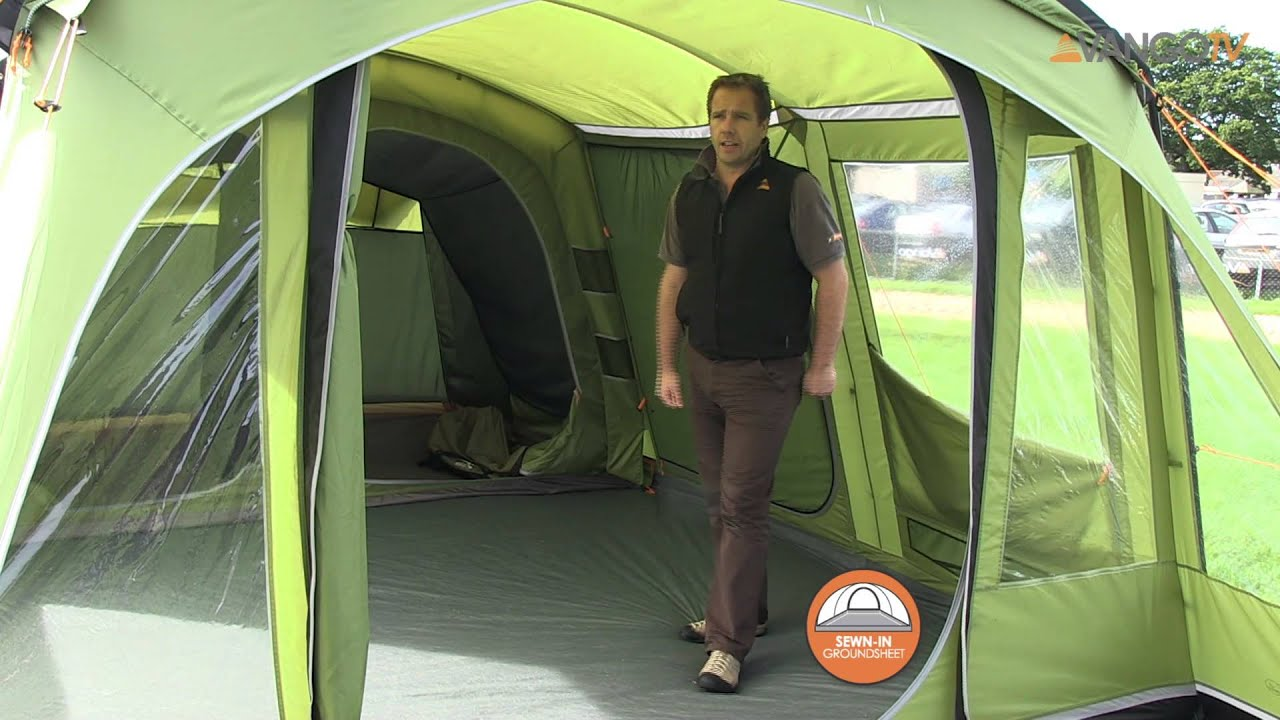 Vango Family  Mira poled tent filmed 2013  YouTube