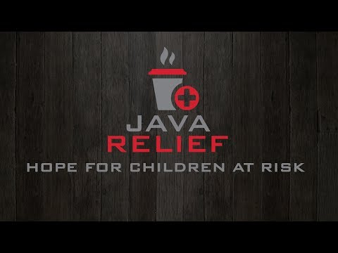 Java Relief Coffee. Wake Up Do Good