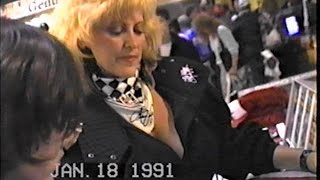 Linda Vaughn N Hotties 91  Motorsports show Valley Forge pa