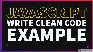 Write Clean Code Example #13