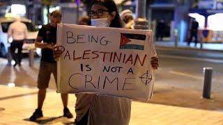 İsrail polisinin zihinsel engelli Filistinli genci vurarak öldürmesi protesto edildi