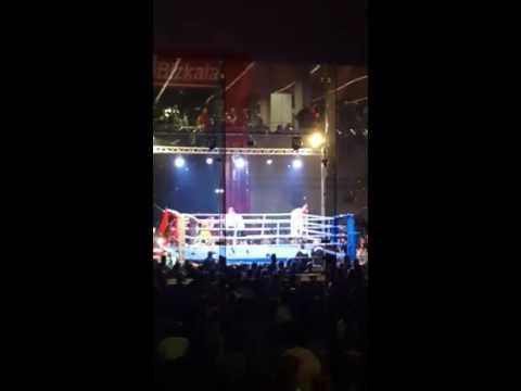 """""""El Capo"""" A Făcut Prima Victimă în Ringul Profesionist"""