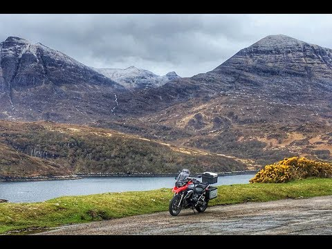 Scotland by BMW R1200GS Part 4 - Ullapool to Thurso on the North Coast 500