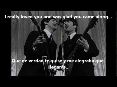 Paul McCartney - Here Today (Subtitulada Inglés/Español)