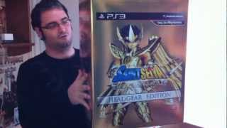 Openbox de Saint Seiya ps3 edición Headgear Box