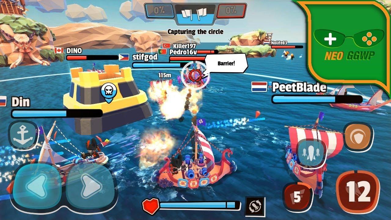 Pirate Code Android Apk Moba Battleship Gameplay Youtube