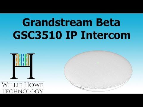 Grandstream GSC3510 Beta IP Intercom