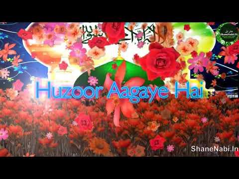 Huzoor Aagaye Hai | Whatsapp Status Video #1 Trend Eid Milad Un Nabi Naat | Very Heart Touching 💖💖