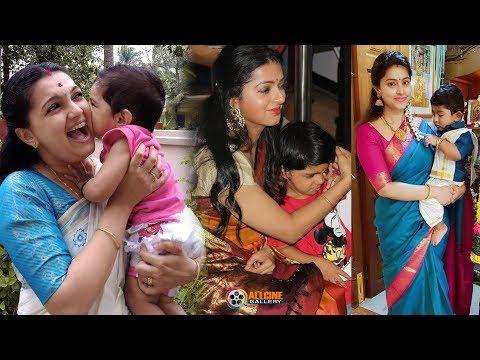 South Indian Actress With Their Children | Tamil, Telugu, Malayalam, Kannada