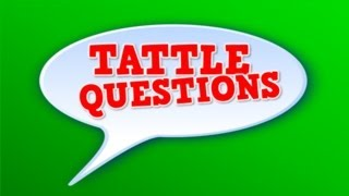Tattle Questions (song for kids about not tattling)