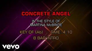 Скачать Martina McBride Concrete Angel Karaoke