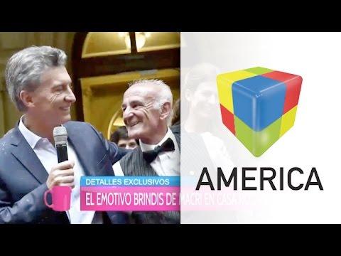 Detalles exclusivos del brindis de Macri con empleados de la Rosada