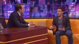 Tom Daley tells Jonathan Ross opening up about boyfriend was 'terrifying'