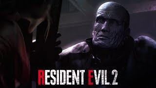 Resident Evil 2 CLAIRE vs TYRANT MR X Part 4