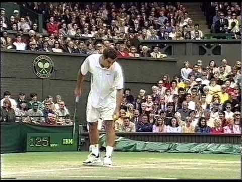 Pete Sampras Classic Collection of Crosscourt Forehands