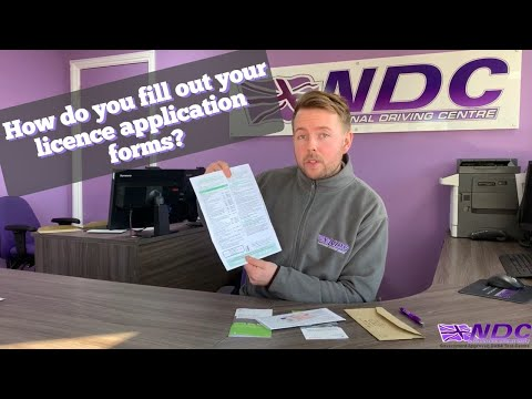 LGV & PCV: How Do I Fill Out My Lorry Or Bus D2/D4 Provisional Forms?