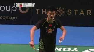 CROWN GROUP Australian Open 2017 | Badminton F M3-MS | Kidambi Srikanth vs Chen Long
