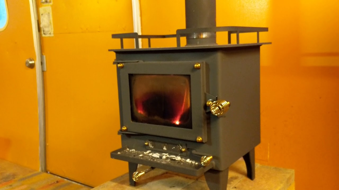 Airstream Sax Workshop New Upgraded Wood Stove For Heat Cubic