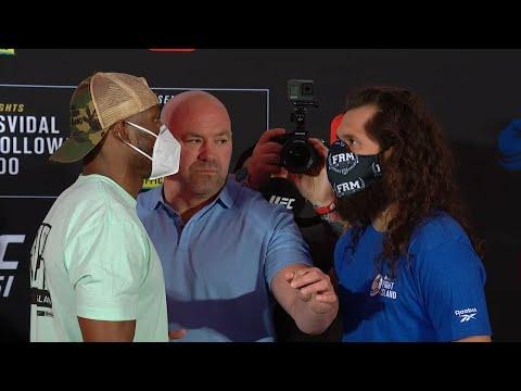 UFC 251: Weigh-in Faceoffs