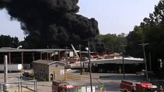 QRS recycling fire, New Albany Indiana