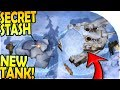 NEW TANK + SECRET DOG STASH in the NORTH - Last Day on Earth Survival Update 1.9.7