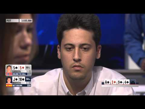 Adrián Mateos Vs Johnny Lodden | PokerStars.es