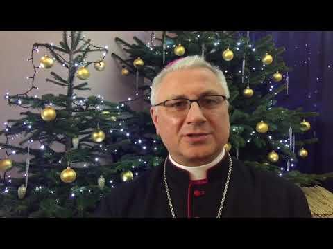 Życzenia bożonarodzeniowe bp. Artura Mizińskiego