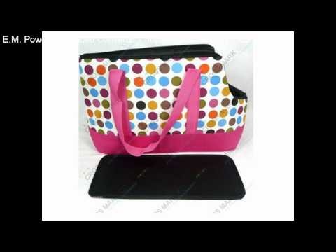 puppy-colorful-dots-bag-cross-mark-co