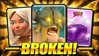 THIS DECK IS ABSOLUTELY BROKEN!! #1 DIRTIEST DECK IN CLASH ROYALE!!
