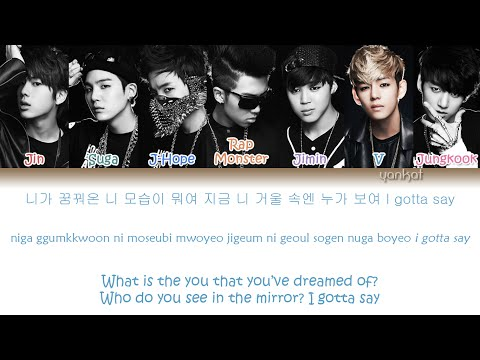 BTS (Bangtan Boys (방탄소년단) - No More Dream (Color Coded Han|Rom|Eng Lyrics)