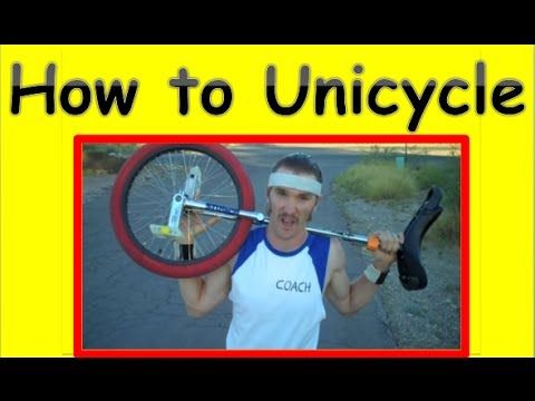 Learn How To Ride A Unicycle Tutorial Youtube