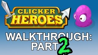 Clicker Heroes: Walkthrough Part 2 - a free Miniclip game