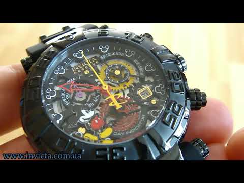 Invicta 22735 Disney Mickey Mouse Limited Edition Black 500m