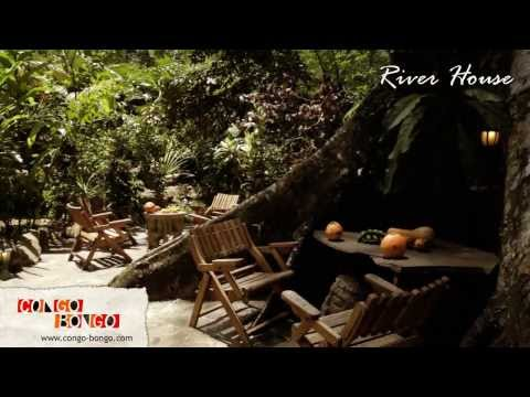 Congo Bongo Ecolodges - River Dream House - Manzanillo Beach Costa Rica
