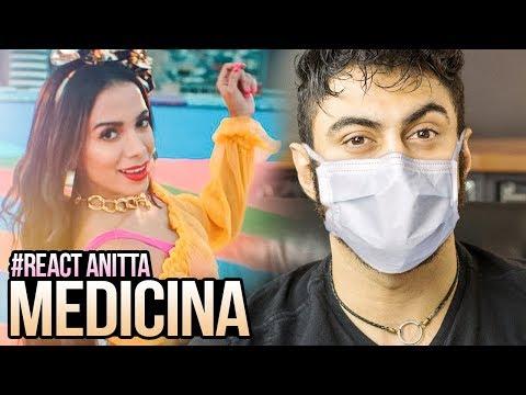 REAGINDO a Anitta - Medicina    ANITTA