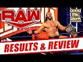 WWE RAW 4-6-2020 Full Show Review | WrestleMania Fallout | Drew McIntyre vs Big Show!?
