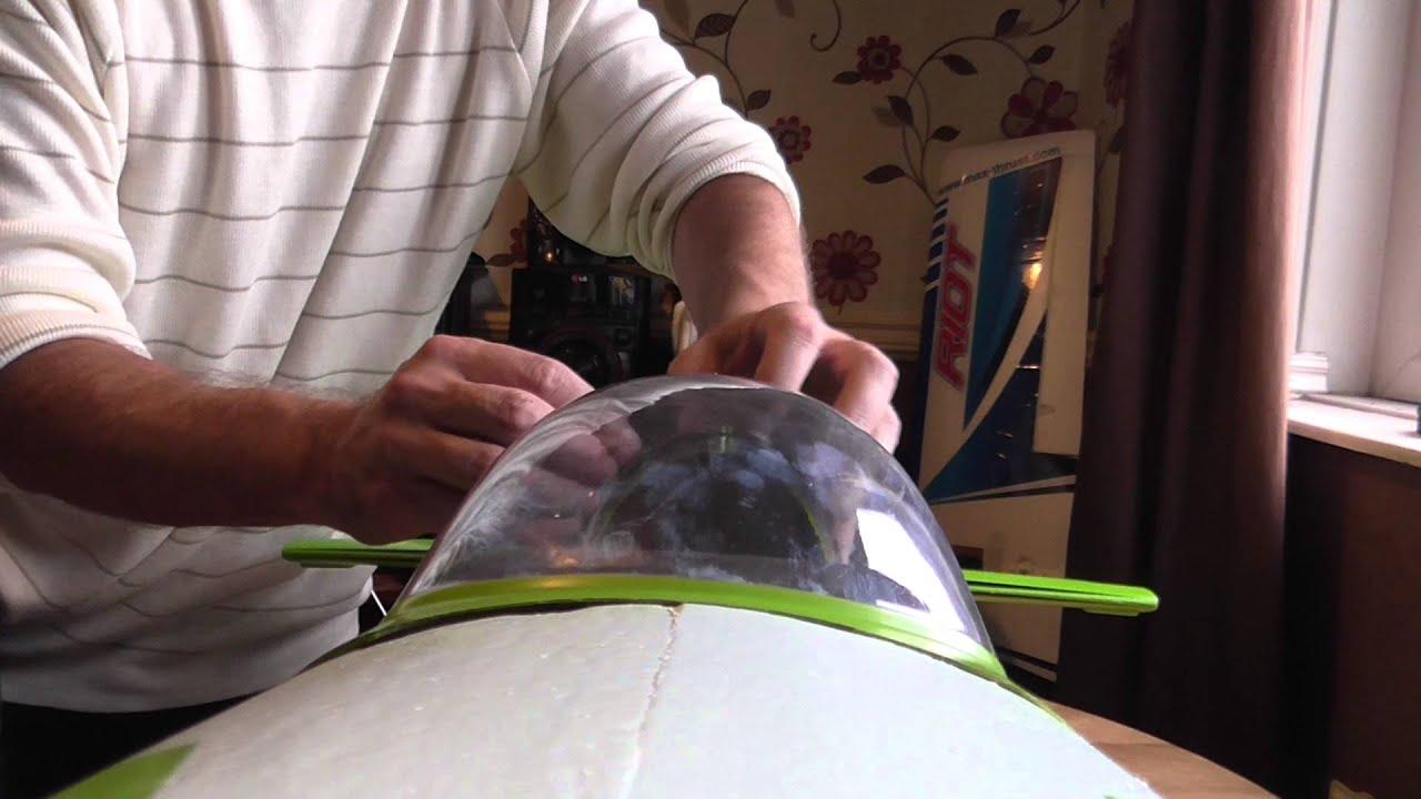 RC Aeroplane Canopy Tip & RC Aeroplane Canopy Tip - YouTube