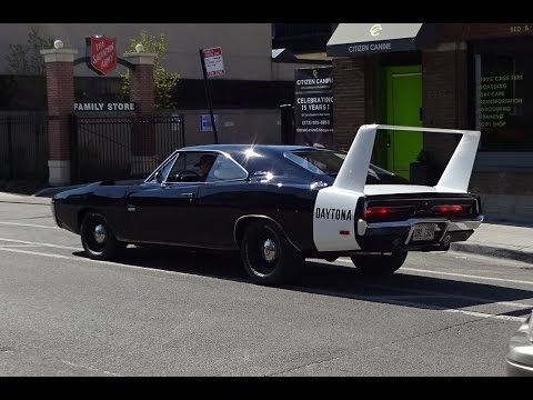 Ride In A 1969 Dodge Charger Daytona 426 Hemi Why Not