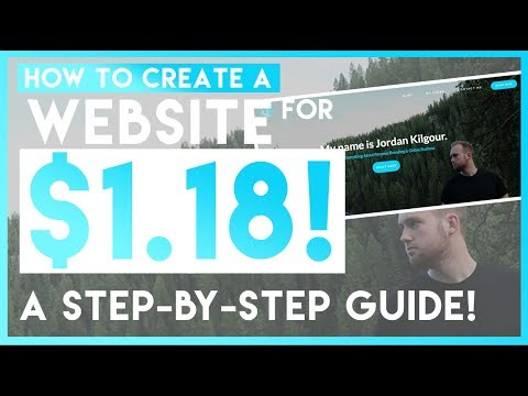 How To Create A Wordpress Website From Scratch For $1.18 In 2017! - A Step By Step Beginners Guide