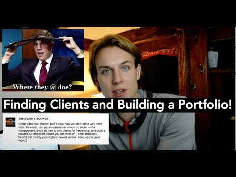 How to Find Clients for Social Media Management & Build a Portfolio? - Answering Comments