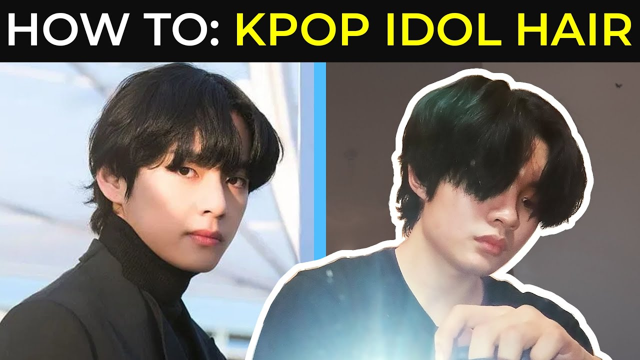 Kpop Hairstyle Bts V Hairstyle From On Quarantine Hairstyle Men Sammy Ame Youtube