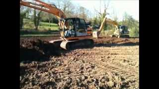 Dorman Bros jcb diggers 130s Part 2